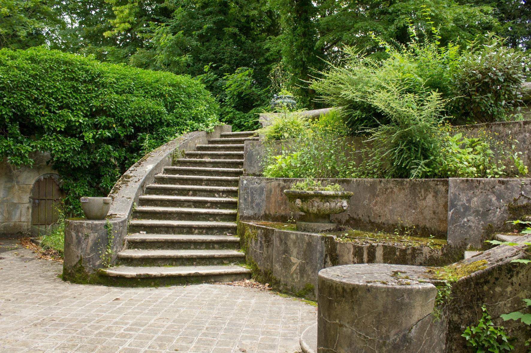 Escaliers extérieur Cinévaugien